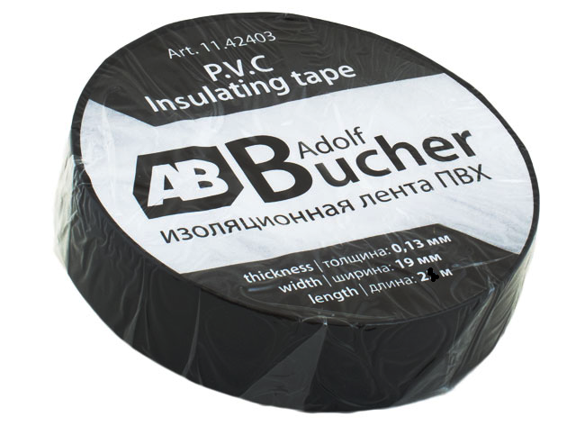 Изолента AB  Adolf Bucher  ПВХ 19x25