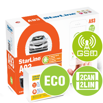 STARLINE A-93 2CAN-LIN GSM ECO